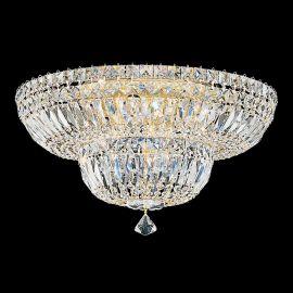 Plafoniera design LUX Crystal Gemcut, Petit Crystal Deluxe 5894, 46cm - Lux Lighting Schonbek - Plafoniere Cristal Schonbek