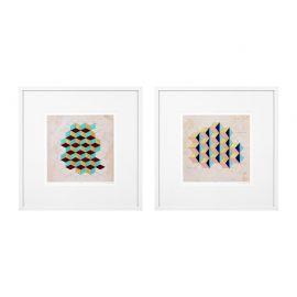 Set 2 tablouri Geometric Pattern Play