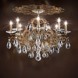 Plafoniera design LUX cristal Heritage, Filigrae FE7208 - Lux Lighting Schonbek - Plafoniere Cristal Schonbek