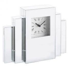 Ceas de masa elegant placat cu oglinda Glam - Evambient SX - Parfumuri de camera, Idei cadouri, Obiecte decorative