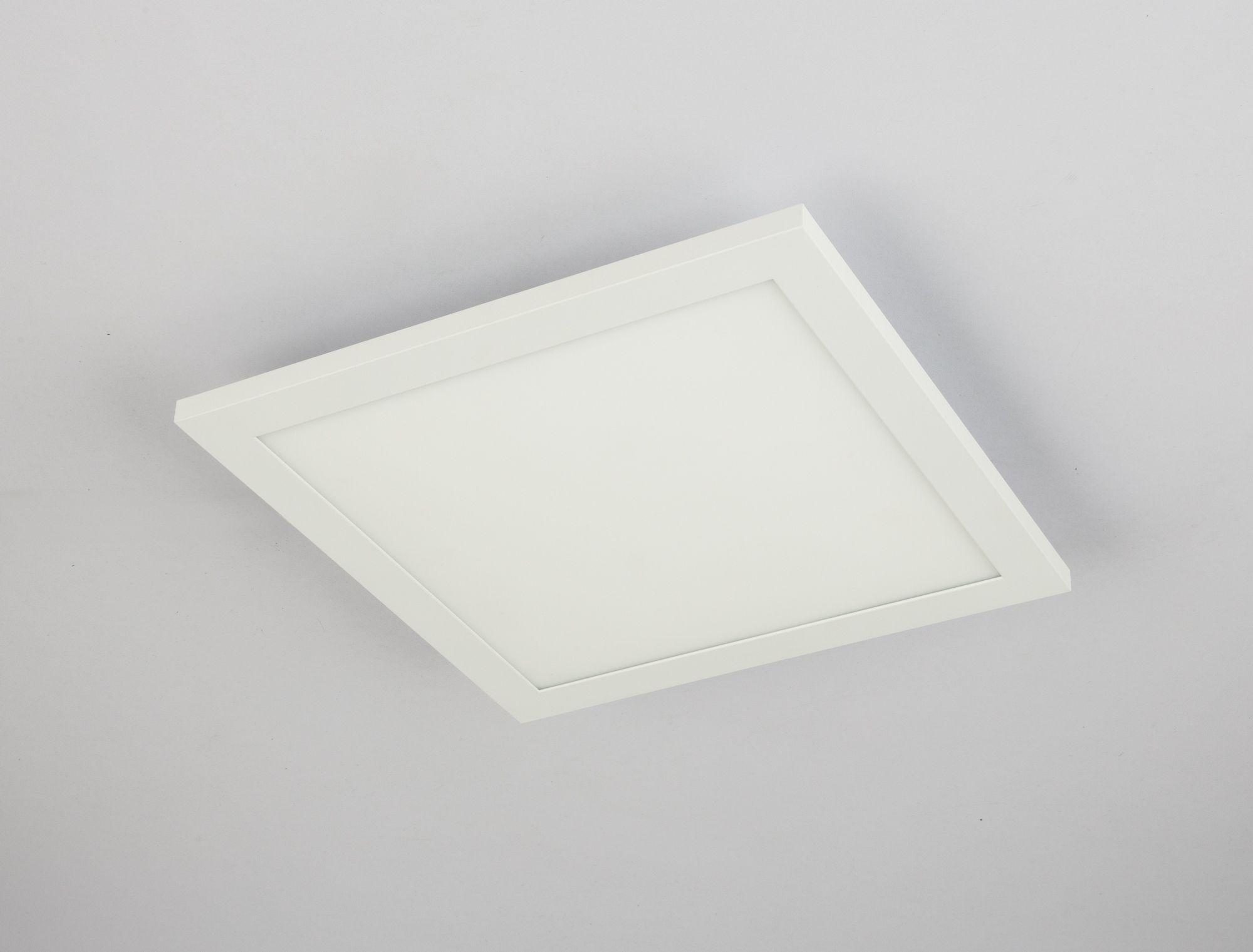 Plafoniera Led Moderna : Plafoniera led moderna cu lumina reglabila rosi 30x30cm