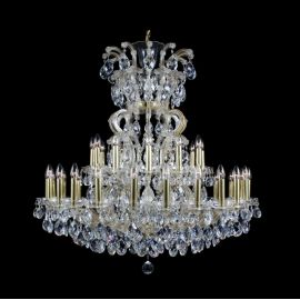 Lustra 37 brate cristal Bohemia Maria Theresa