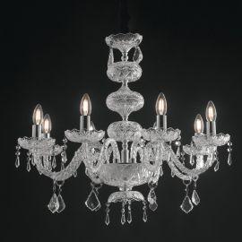 Candelabru cu 8 brate, design elegant INCANTO