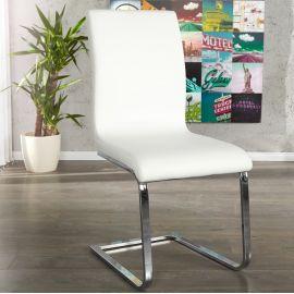 Set de 4 scaune Hampton alb