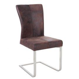 Set de 2 scaune Samson cafeniu inchis