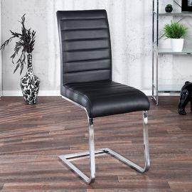 Set de 4 scaune Stuart negru