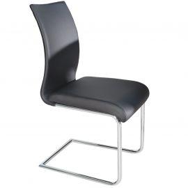 Set de 4 scaune Suave negru