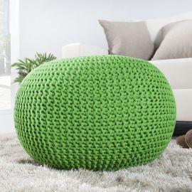 Taburete Leeds 50cm verde