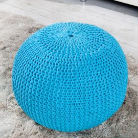 Taburete Leeds 50cm albastru
