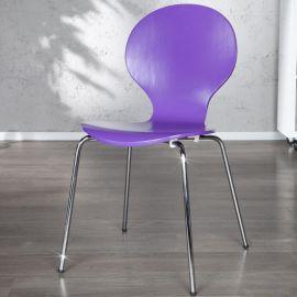 Set de 4 scaune Form violet