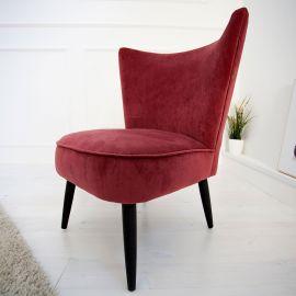 Fotoliu stil Retro rosu Sixties - Evambient VC - Reduceri