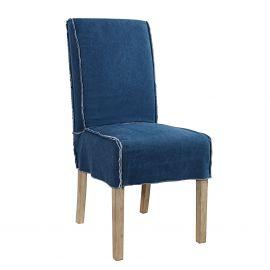 Set de 2 scaune Rider albastru