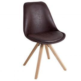 Set de 4 scaune Scania NewLook cafeniu - Evambient VC - Seturi scaune, HoReCa