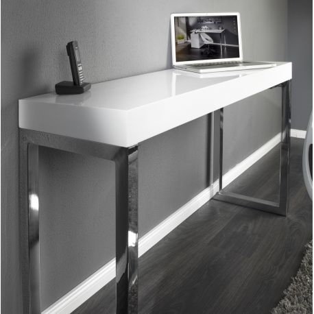 Birou White Desk 120x40cm - Evambient VC - Birouri