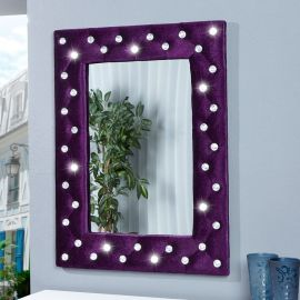 Oglinda decorativa M Boutique violet - Evambient VC - Oglinzi