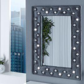 Oglinda decorativa M Boutique gri