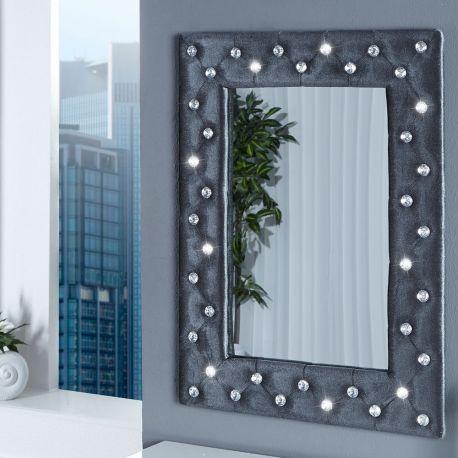 Oglinda decorativa M Boutique gri - Evambient VC - Oglinzi
