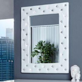 Oglinda decorativa M Boutique alba