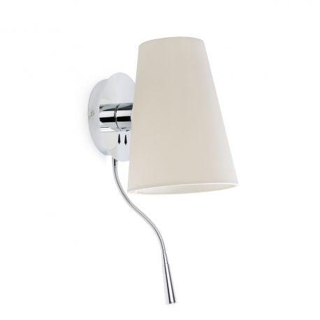 Aplica cu reader LED LUPE - Faro Barcelona - Reduceri