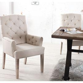 Set de 2 scaune Castle bej - Evambient VC - Seturi scaune, HoReCa