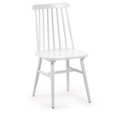 Set de 2 scaune KRISTIE alb