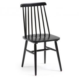 Set de 2 scaune KRISTIE negru