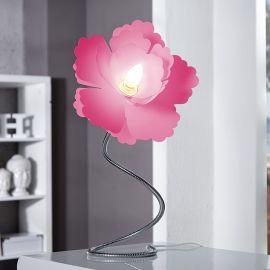 Lampa flexibila Florcita roz