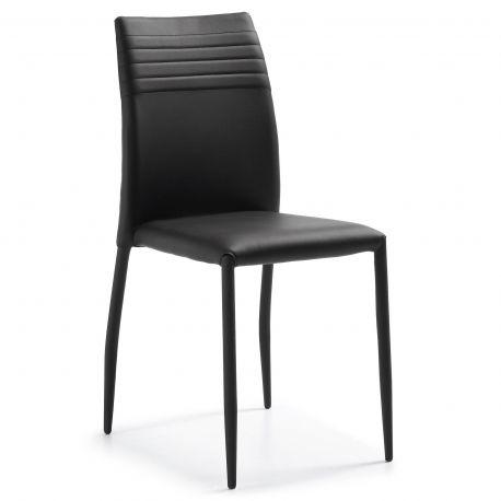 Seturi scaune, HoReCa - Set de 2 scaune FRESH negru