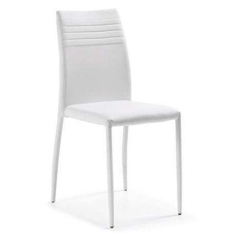 Set de 2 scaune FRESH alb