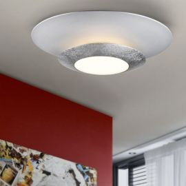 Plafoniera LED HOLE SILVER - Evambient SV - Plafoniere
