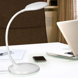 Lampa LED de birou SCOOP WHITE