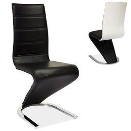 Scaun H669 negru/ alb