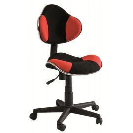 Scaun de birou Q-G2 negru/ rosu