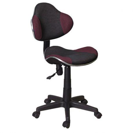 Scaun de birou Q-G2 negru/ violet - Evambient SM - Scaune Birou cu role