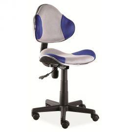 Scaun de birou Q-G2 albastru/ gri