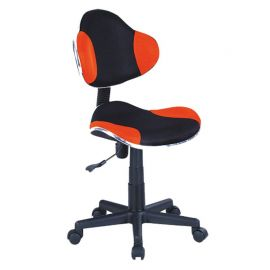 Scaun de birou Q-G2 portocaliu/ negru
