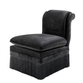 Scaun Boucheron negru