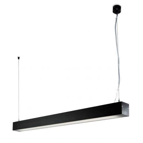 Lustra ORE Surface 1-10V negru T5 54W