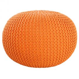 Taburete Leeds 50cm portocaliu