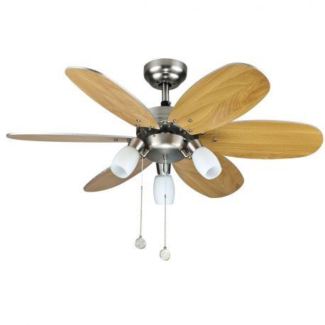 Lustra cu Ventilator TONES NIQUEL - SULION - Lustre cu ventilator