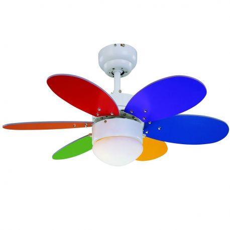Lustra LED cu Ventilator RAINBOW