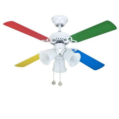 Lustra cu Ventilator HORNET - SULION - Lustre cu ventilator