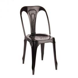 Set de 4 scaune Industrial DROID negru - Evambient BZ - Seturi scaune, HoReCa