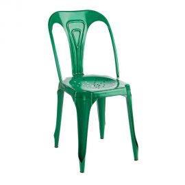 Set de 4 scaune Industrial DROID verde