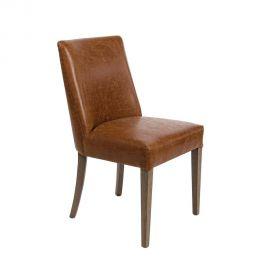 Set de 2 scaune BEATRIZ maro vintage - Evambient BZ - Seturi scaune, HoReCa