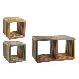 Set de 3 cuburi LEO