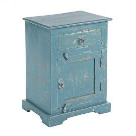 Dulap ANIA 1DO-1DR albastru - Evambient BZ - Dulapuri