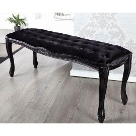 Bancheta Boutique 115cm negru
