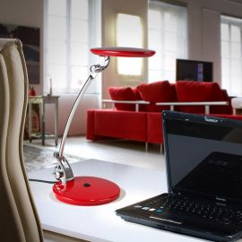 Lampa LED Omnia rosie