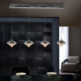 Lustra LED cu 4 pendule Zoe - Evambient SV - Pendule, Lustre suspendate